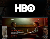 HBO - Concept Website