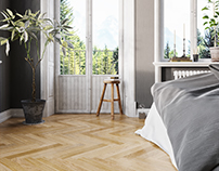 Scandinavian Bedroom | Corona