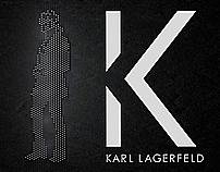 k karl lagerfeld logo bumper