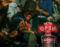 Smirnoff: We're Open Campagin
