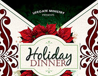 Holiday Dinner Flyer III