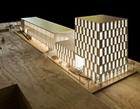 Health and Innovation Centre model. Caceres
