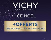 Films Vichy pour les coffrets Noël