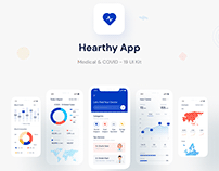 Medical App Exploration - COVID19 Tracker