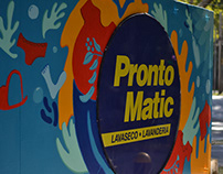 Mural para Pronto Matic - Chile
