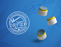 Drifter CBD Product Logo and Label Design
