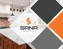 SANA Remodeling & Consulting Brand Design