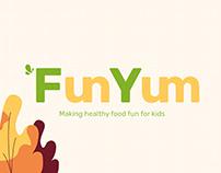 FunYum Kids' Nutrition Website