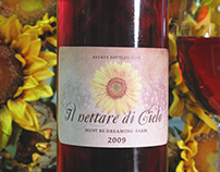 Il nettare di Cielo - Wine Label