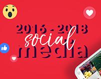 Social Media 2016 - 2018