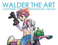 Walder the art - brandstudio press art book