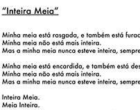 "Poetry ""Inteira Meia"""