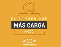El banner que más carga - Chevrolet