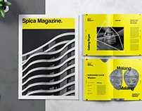 Art and Exhibition Magazine Editorial Template