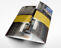 Ultra Wine Racks : gate-fold brochure