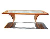 Bent Laminated Coffee Table