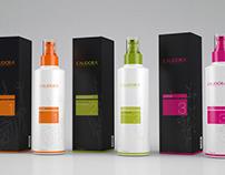 Calidora Cosmetics Packaging Design