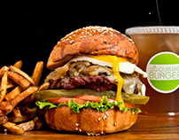 Gourmet Burger Franchise Shoot