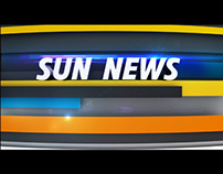 On Air Graphic Package - Sun News