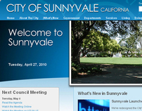 City of Sunnyvale: Web Site Redesign