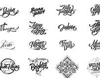 Lettering & Typography Pack 1