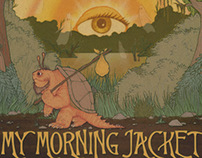 My Morning Jacket + Band Of Horses Poster