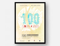 Budapest in 100 words poster