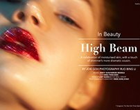HIGH BEAM for T Magazine Singapore