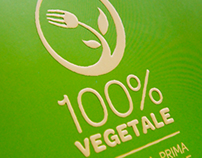 100% VEGETALE - Logo - Brochure
