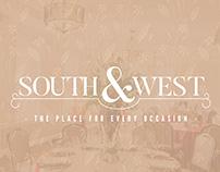 South&West, Event Venue | Branding