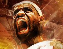 LeBron James 'Golden Season' Wallpaper
