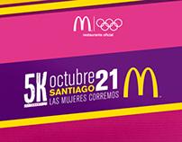 McDonald's · Corrida 5K.