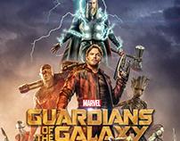 GOTG Vol.3 - Film Poster Design