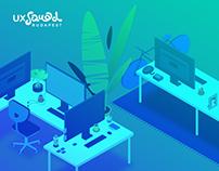 UX Squad Website | UI design and Illustrations