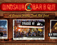 Dinosaur Barbque Website