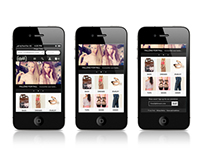 Mobile ecommerce template for Magento