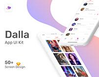 Dalla - Dating Application Mobile Template