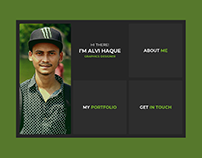 Personal Portfolio | UI Design