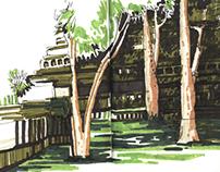 Cambodia travelbook