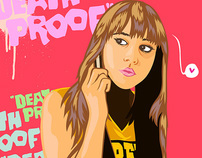 DEATH PROOF VECTOR SERIE