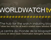 Worldwatchtweet.com tout l'horlogerie live sur Twitter
