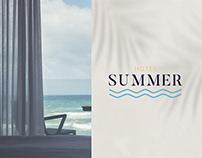 Summer Hotel | branding