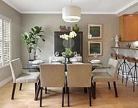 Transitional, full, home-staging for Real Estate