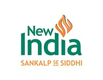 New India Logo- Sankalp se Siddhi