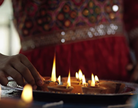 Social media project for HP on Diwali