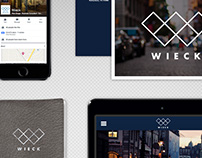 Wieck Site & Brand Application