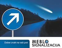 MEBLO signalizacija | identity, concept