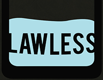 Lawless Film Minimalistic Poster Design