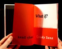 Goudy Sans Type Sample Book