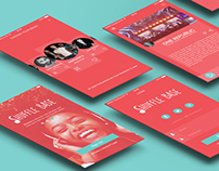 Shuffle Base - app design